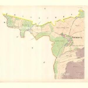 Stein Metz (Savenice) - m2879-1-001 - Kaiserpflichtexemplar der Landkarten des stabilen Katasters