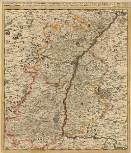 Landgraviatus Alsatiae Superioris et Inferioris Novissima Tabula