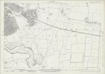 Essex (New Series 1913-) n LXXXVI.8 (includes: Barking) - 25 Inch Map