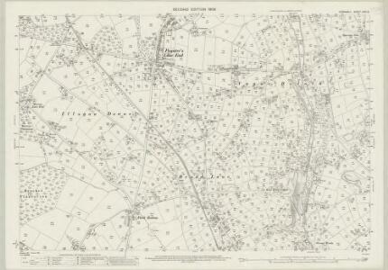 Cornwall LXIII.2 (includes: Camborne Redruth) - 25 Inch Map