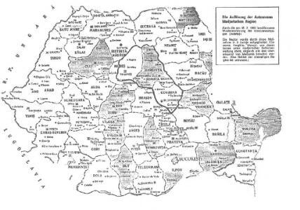 Die Auflösung der Autonomen Madjarischen Region