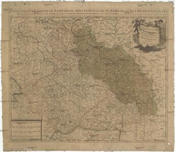 Le royaume de Boheme duché de Silesie, les marquisat de Moravie et de Lusace