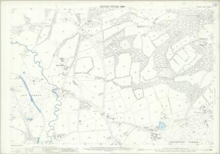 Surrey XXXIX.2 (includes: Cranleigh; Wonersh) - 25 Inch Map