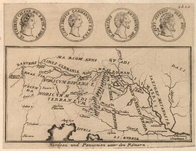 Nordgau und Pannonien unter den Römern