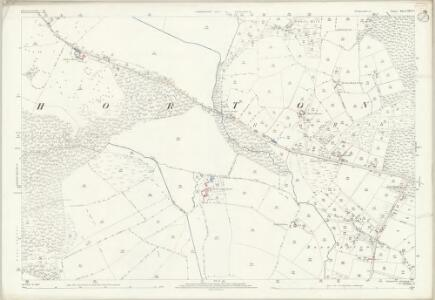 Dorset XXVI.6 (includes: Holt; Horton; Woodlands) - 25 Inch Map