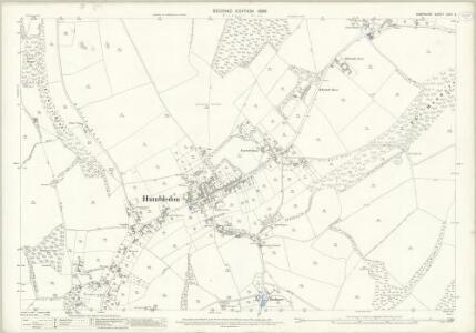 Hampshire and Isle of Wight LXVII.4 (includes: Hambledon; Soberton) - 25 Inch Map