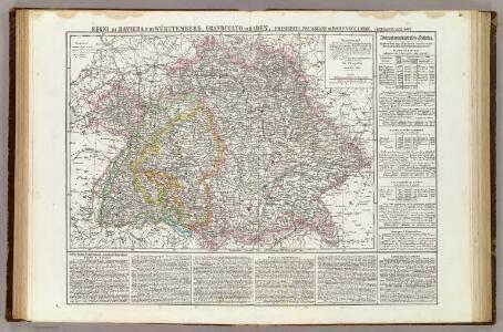 Regni di Baviera, Wurttemberg, Baden, Principati Prussiani.