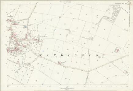Northamptonshire XIII.15 (includes: Elton; Warmington) - 25 Inch Map