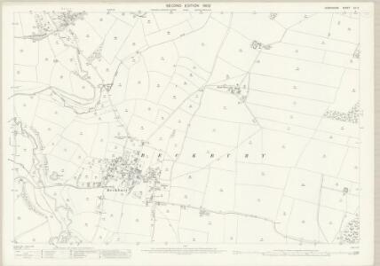Shropshire LII.2 (includes: Beckbury; Ryton) - 25 Inch Map
