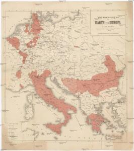 Veränderungen der Karte von Europa seit 1815