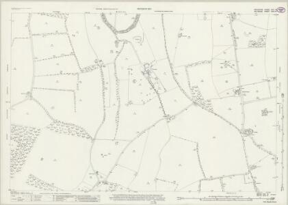 Berkshire XXV.14 (includes: Chilton Foliat; Lambourn; Ramsbury) - 25 Inch Map