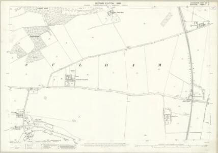 Oxfordshire XLV.11 (includes: Clifton Hampden; Culham; Sutton Courtenay) - 25 Inch Map