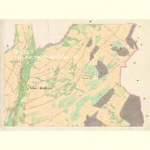 Klein Mohrau (Morawa Mala) - m1687-1-003 - Kaiserpflichtexemplar der Landkarten des stabilen Katasters