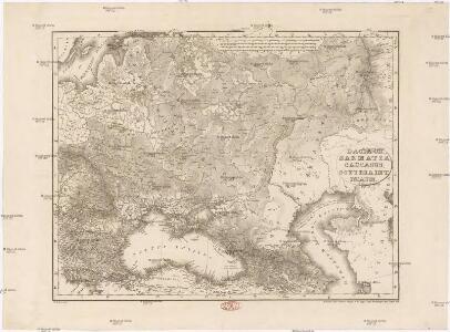 Dacia or., Sarmatia, Caucasus, Scythia int. Imaum