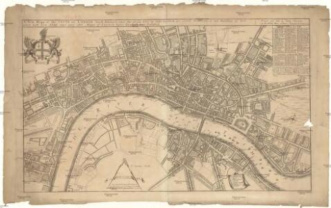 A new mapp of the city of London
