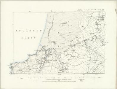 Cornwall XLVIII.SE - OS Six-Inch Map