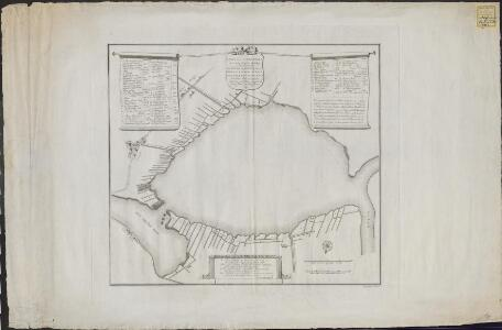 Kaart van de Diemermeer voor en bij derzelver bedijking in den jaare 1629 ...