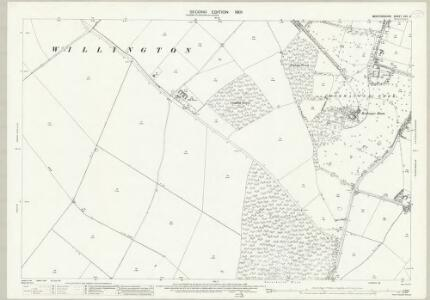 Bedfordshire XVII.3 (includes: Cople; Moggerhanger; Northill; Willington) - 25 Inch Map