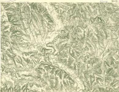 III. vojenské mapování 4367/1