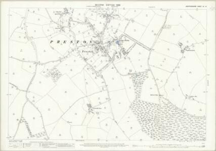 Hertfordshire XII.13 (includes: Ippollitts; Kings Walden; Langley; Preston) - 25 Inch Map