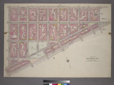 Plate 16, Part of Sections 1&2: [Bounded by Broome Street, Willett Street, Grand Street, East Broadway, Pike Street, Division Street and Orchard Street.]