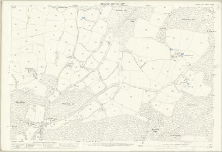 Sussex XXIII.9 (includes: Fittleworth; Kirdford; Petworth) - 25 Inch Map