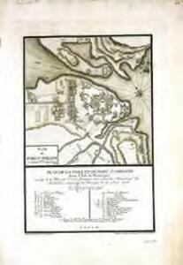 Plan du Fort St. Philippe