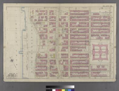 [Plate 26: Bounded by W. 86th Street, Central Park West (8th Avenue), W. 75th Street and Hudson River.]