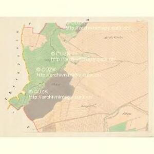 Aussee (Hausow) - m3235-1-003 - Kaiserpflichtexemplar der Landkarten des stabilen Katasters