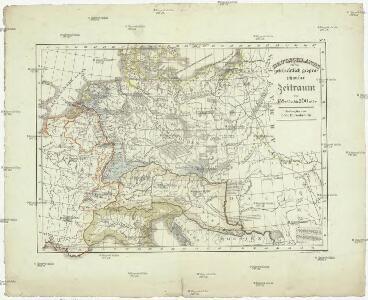 Deutschlands geschichtlich geographischer Zeitraum von 158 v. Chr. bis 260 n. Chr