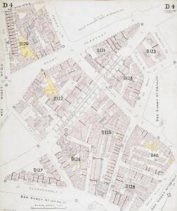 Insurance Plan of London North District Vol. D: sheet 4