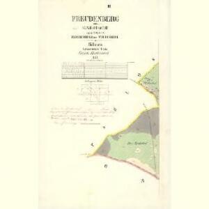 Freudenberg - c8507-2-002 - Kaiserpflichtexemplar der Landkarten des stabilen Katasters