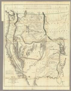 Map Of Oregon And Upper California.