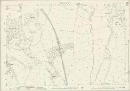 Surrey XXXIII.4 (includes: Betchworth; Brockham; Dorking; Holmwood; Milton) - 25 Inch Map