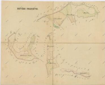Mapy lesních porostů svěřeneckého panství Kout - revír Spálenec