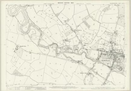 Gloucestershire XLVII.16 (includes: Berkeley; Ham and Stone; Hamfallow; Hinton) - 25 Inch Map