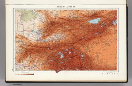 30.  Kirghz SSR and Tajik SSR.  The World Atlas.