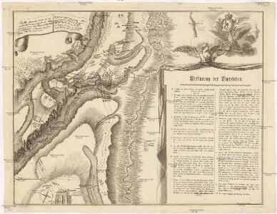 Plan des tapfern Angriffs und vollkommenen Sieges der russisch-kayserlichen Waffen über die Turkische und Tatarische Arméé an der Large in der Moldau den 7. Iuly 1770