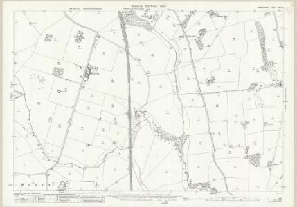 Shropshire XXII.16 (includes: Ercall Magna; Hodnet; Stanton Upon Hine Heath) - 25 Inch Map