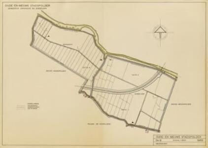 Oude en Nieuwe Stadspolders, gemeente Dubbeldam en Dordrecht.