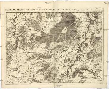 Carte particuliere des environs de Roermonde, Venlo, le marais de Peel, &c