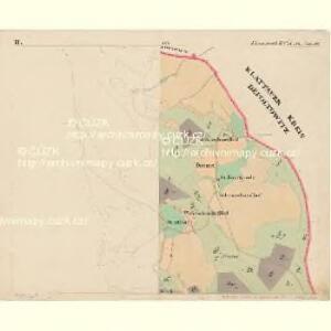 Eisenstrass - c1950-1-002 - Kaiserpflichtexemplar der Landkarten des stabilen Katasters