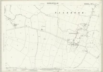 Bedfordshire II.13 (includes: Covington; Dean and Shelton; Kimbolton; Tilbrook) - 25 Inch Map