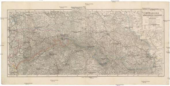 Schlesien, Königreich Sachsen und nördliches Böhmen