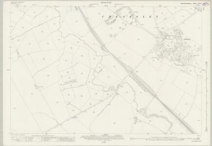 Buckinghamshire XXXII.7 (includes: Chearsley; Long Crendon) - 25 Inch Map
