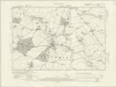 Staffordshire LXVI.NW - OS Six-Inch Map