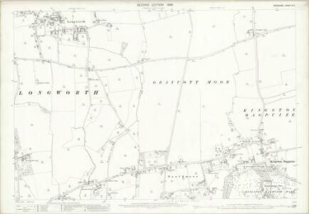 Berkshire IX.2 (includes: Draycot Moor; Kingston Bagpuize; Longworth) - 25 Inch Map