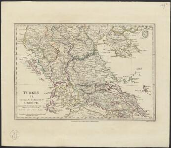 Turkey II : containing the northern part of Greece