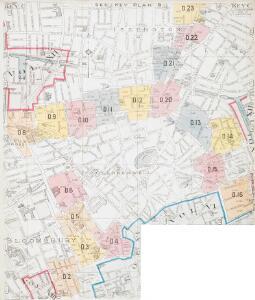 Insurance Plan of London North District Vol. D (Key C): sheet 3-1