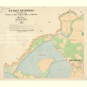 Budweis - c0964-1-001 - Kaiserpflichtexemplar der Landkarten des stabilen Katasters